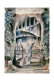 Illustrations to Dante's 'Divine Comedy', the Inscription over the Gate Giclee Print by William Blake
