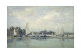 High Tide, Blakeney Giclee Print by Sir Walter Russell