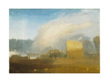 Rouen: the Left Bank, with Shipping Beyond Giclee Print by Joseph Mallord William Turner