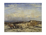Carting Sand Giclee Print by Sir Walter Russell
