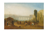Dieppe: the Port from the Quai Henri Iv Giclee Print by Joseph Mallord William Turner