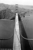 San Francisco, California - Golden Gate Bridge from Bridge Pinnacle Plastic Sign by  Lantern Press