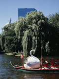 Boston Swan Boats Print by Carol Highsmith