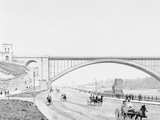 Washington Bridge and the Harlem River Speedway, New York Photo