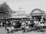 The Goat Carriages, Coney Island, New York, N.Y. Photo