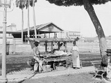 Peddlers Wagon or Portable Stall Photo