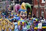 Court Jester Float Photo by Carol Highsmith