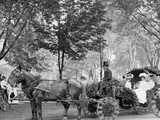 Bi-Centenary Celebration, Floral Parade, Carriage of Mrs. D.G. Swift, Detroit, Mich. Photo