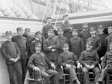 U.S.S. Kearsarge Officers Photo