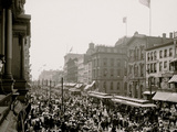 Labor Day Crowd, Main St., Buffalo, N.Y. Photo
