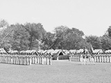 Inspection of Battalion with Color Guard, United States Military Academy, West Point, N.Y. Photo