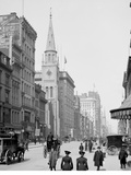 Up Fifth Avenue from 28th Street, New York, N.Y. Photo