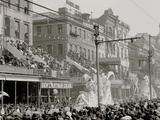 New Orleans, La., Mardi Gras Day, Thered Pageant Photo