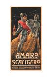 Amaro Scaligero Posters by Attilio Bresciani