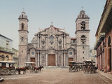 La Catedral, Havana, Cathedral of the Virgin Mary of the Immaculate Conception Prints by William Henry Jackson