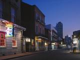 Dusk on Bourbon Street Photo by Carol Highsmith