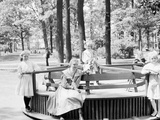 Merry-Go-Round in Clark Park, Detroit, Mich. Photo