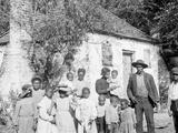 The Whole Black Family at the Hermitage, Savannah, Ga. Photo