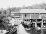 Keene Valley, Old Mill on the Ausable, Adirondack Mts., N.Y. Photo