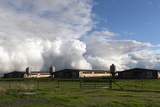 Complex Clouds Form after Many Inches of Rain over Several Days Near Stockton, California Print by Carol Highsmith