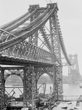 New East River Bridge (Williamsburg Bridge) from Brooklyn, New York, N.Y. Photo