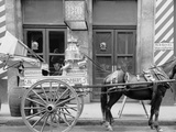 New Orleans, La., a Typical Milk Cart Photo