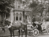 Detroit, Mich., Bi-Centenary Celebration, Floral Parade, Carriage of E. Bonner Photo
