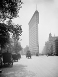 Flat-Iron Building I.E. Flatiron, Fifth Avenue and Broadway, New York Photo