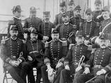 U.S.S. Lancaster, Officers Photo
