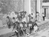 Group of Native Children, Havana, Cuba Photo
