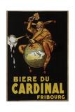 Biere Du Cardinal Art by Achille Lucien Mauzan