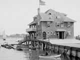 Boston Yacht Club, Marblehead, Mass. Prints