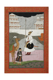 Bhopali Ragini, Folio from a Ragamala (Garland of Melodies) Posters