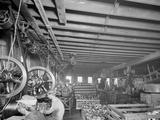 Glazier Stove Company, Tank Room, Chelsea, Mich. Photo