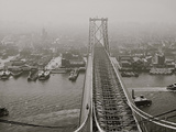 N.Y. from Brooklyn Tower, Williamsburg Bridge, New York, N.Y. Photo