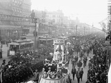 Mardi Gras Procession on Canal St., New Orleans Prints