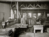 Glazier Stove Company, Machine Room, Chelsea, Mich. Photo