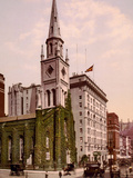 Marble Collegiate Church and Holland House, New York Photo
