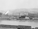Carnegie Blast Furnaces, Homestead, Pa. Photo