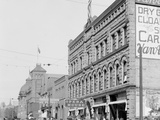 Washington Street, Showing Opera House, Marquette, Mich. Photo