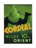 Cordial Milde Orient Poster