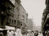 Mott Street, New York City Prints