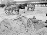 The Sandman, Atlantic City, N.J. Print