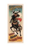 Olympia Paris Hippodrome: Exhibition of Arabs Prints by Theophile Alexandre Steinlen