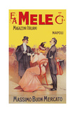 Mele Dress Makes Young Women More Beautiful Poster von Aleardo Villa