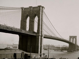 Brooklyn Bridge, New York, N.Y. Photo