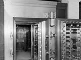 25-Ton Door, Safe Deposit Vault, Main Office, Old Colony Trust Company, Boston, Mass. Posters