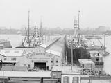 Holland America Piers, Hoboken, N.Y. I.E. N.J. Photo