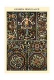 Ornament-German Renaissance Poster by  Racinet