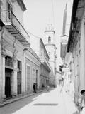 Calle Emperador and Cathedral, Havana, Cuba Photo